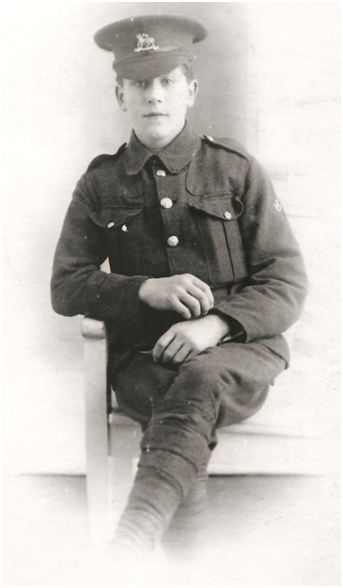 Sidney/Sydney Henry Payne, 1917, World War I