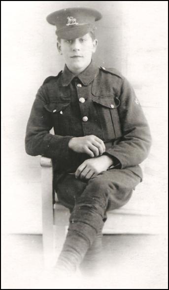 Sidney/Sydney Henry Payne, 1917, World War I