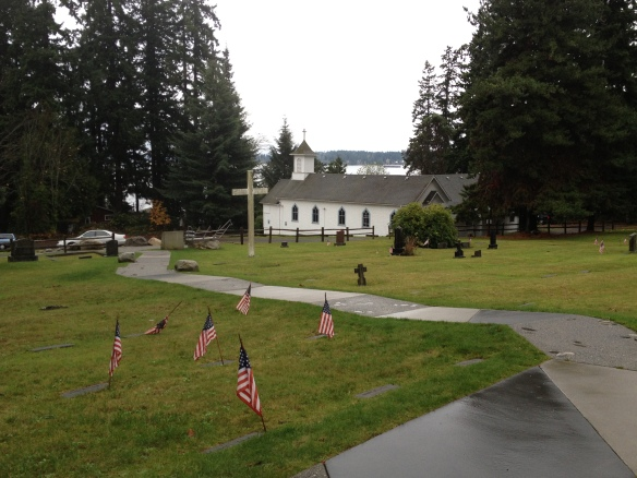 Suquamish Cemetery and St. Peter's Catholic Mission, Suquamish, Washington