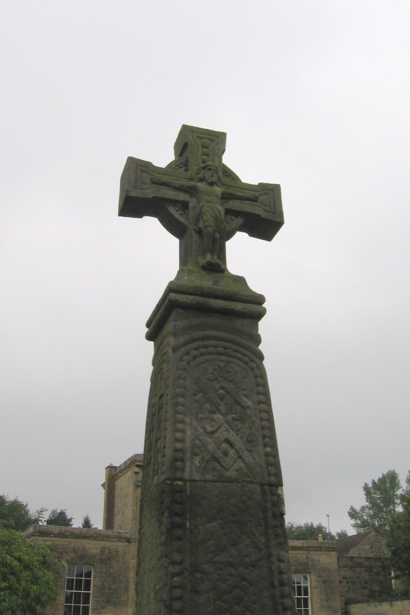 This Saxon cross in Follifoot dates to the 9th century and is made from local stone