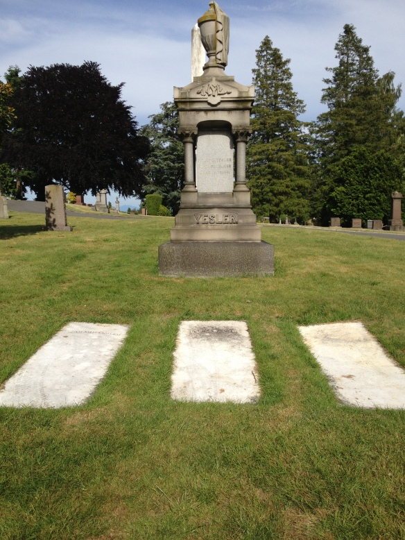 Yesler Family Graves