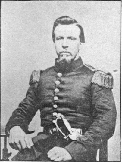 Theodore Lyman Bonney during the Civil War, circa 1863