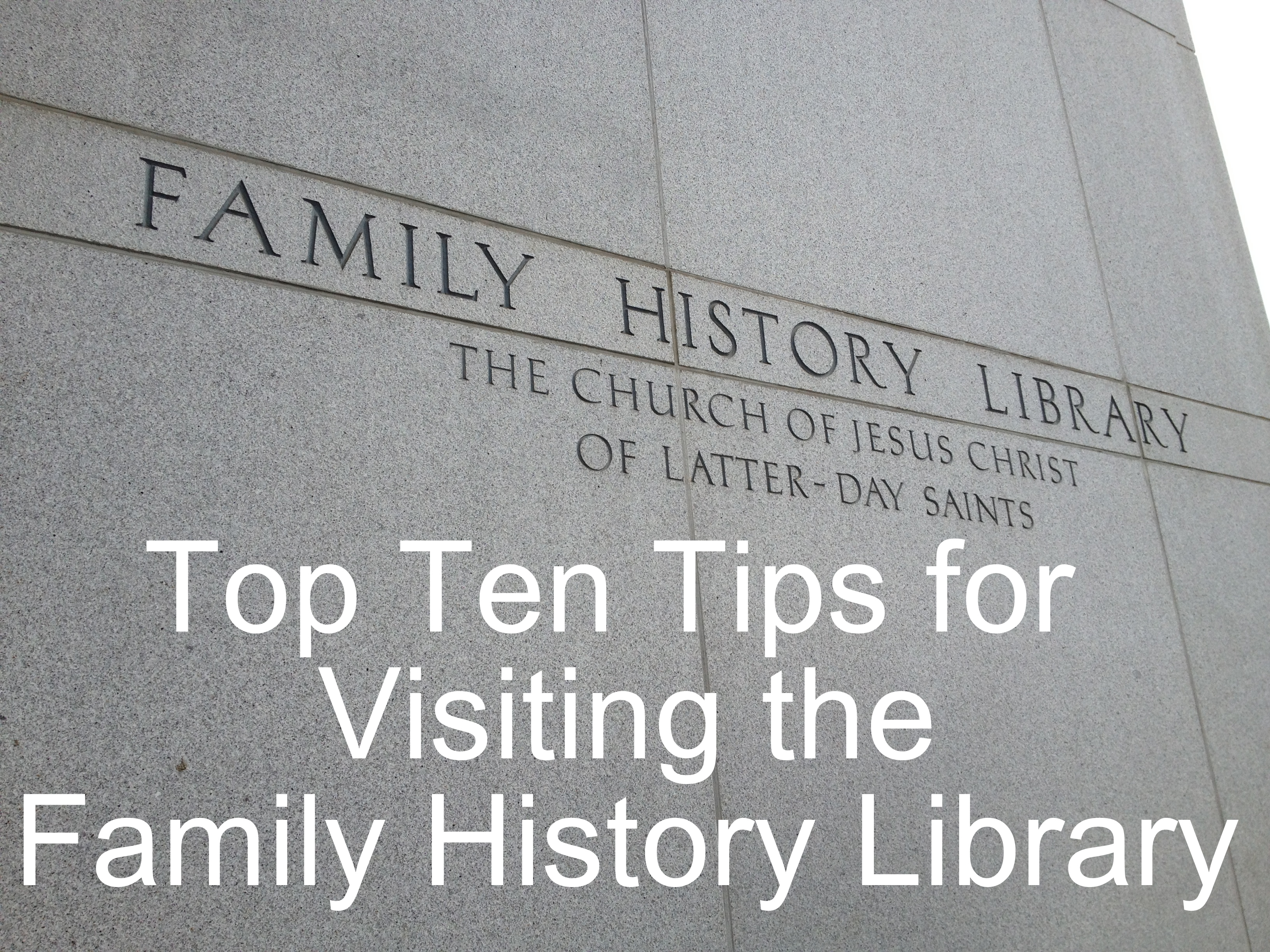 LDS Genealogy and Family History Library - Utah.com