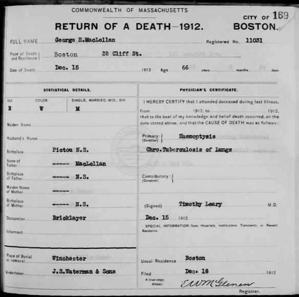 1912mcclellangeorgedeath