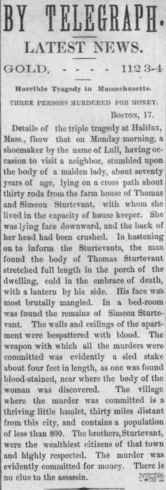 1874-02-17 St Albans Sturtevant Murder
